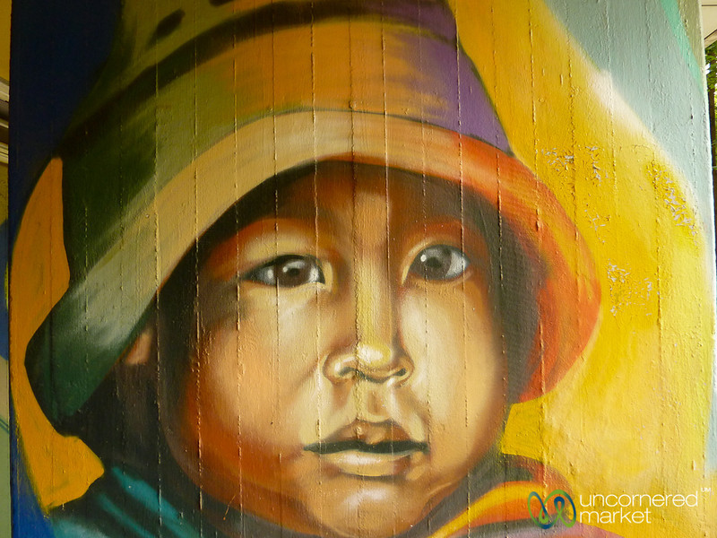Andean Boy - Street Art in Berlin, Germany