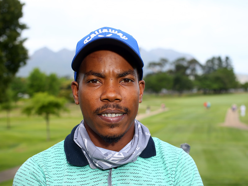 STELLENBOSCH, SOUTH AFRICA - OCTOBER 2: Neswill Croy during the held at Stellenbosch Golf Club on October 2, 2018 in Stellenbosch, South Africa. EDITOR'S NOTE: For free editorial use. Not available for sale. No commercial usage. (Photo by Carl Fourie/Sunshine Tour)