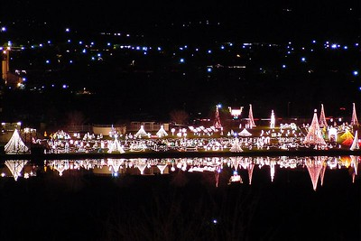 Trail of Lights in Marble Falls 2001