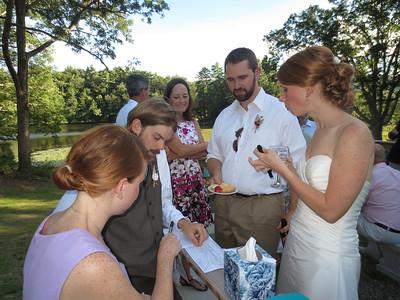 Andy and Kathy's Wedding Aug 3, 2013