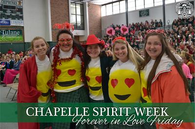 Spirit Week - Forever in Love