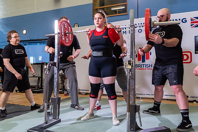 Womens British Powerlifting 8th March 2020 Group C