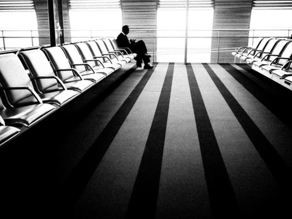 Lufthavns øjeblikke