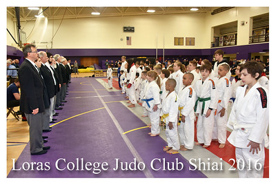 Loras College Judo Club Shiai 2016