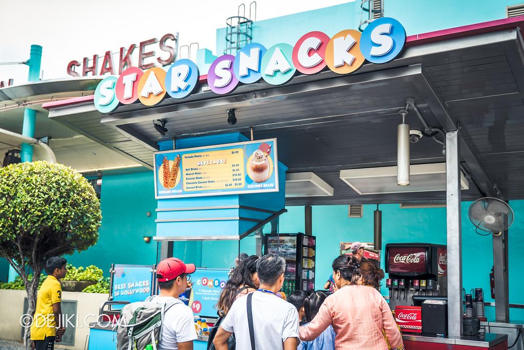 Universal Studios Singapore Park Update Aug 2018 / Star Snacks
