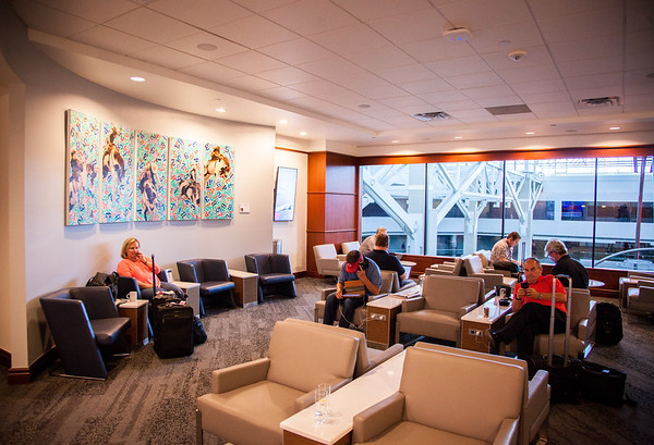 Delta Airlines, Sky Club