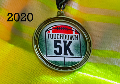 Touchdown 5K - 2020 Pre and Post Photos