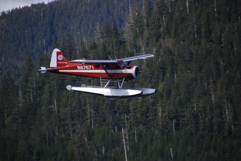 Lots and lots of floatplanes in Alaska