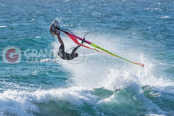 North Beach windsurfing - 29/12/2018