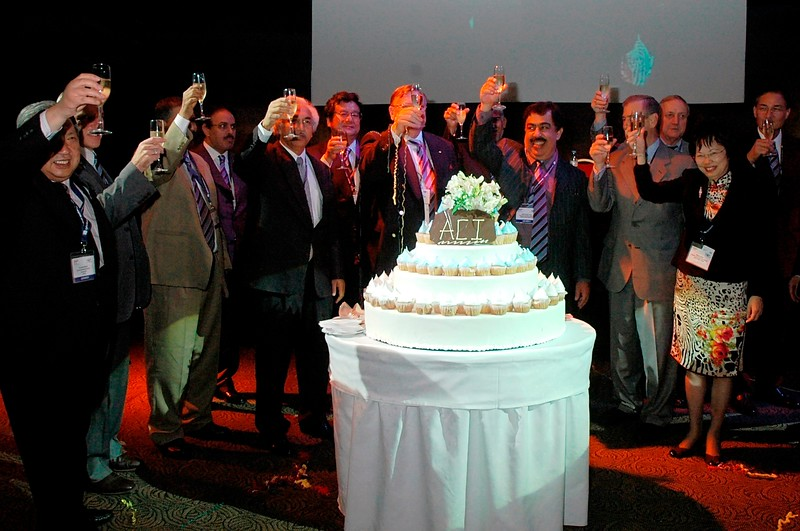 2007-1 Celebration of the Unification of Asia and Pacific regions at the ACI World Conference in Buenos Aires, November 2007
