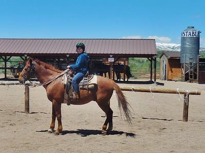 Mia's Birthday  on Horseback 2017 May 20