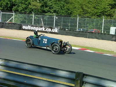 Hawthorn Vintage car race at Oulton Park