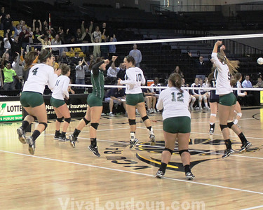 Volleyball: More Loudoun Valley State Title Celebration