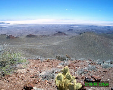 Pinacate Volcanic Field, Mexico with Paul - May 2002