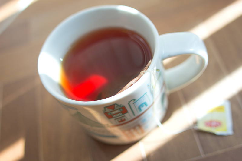 09/22/2012 - Hot tea