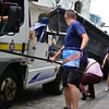 The Police in maritime assets charity pull through Main Street