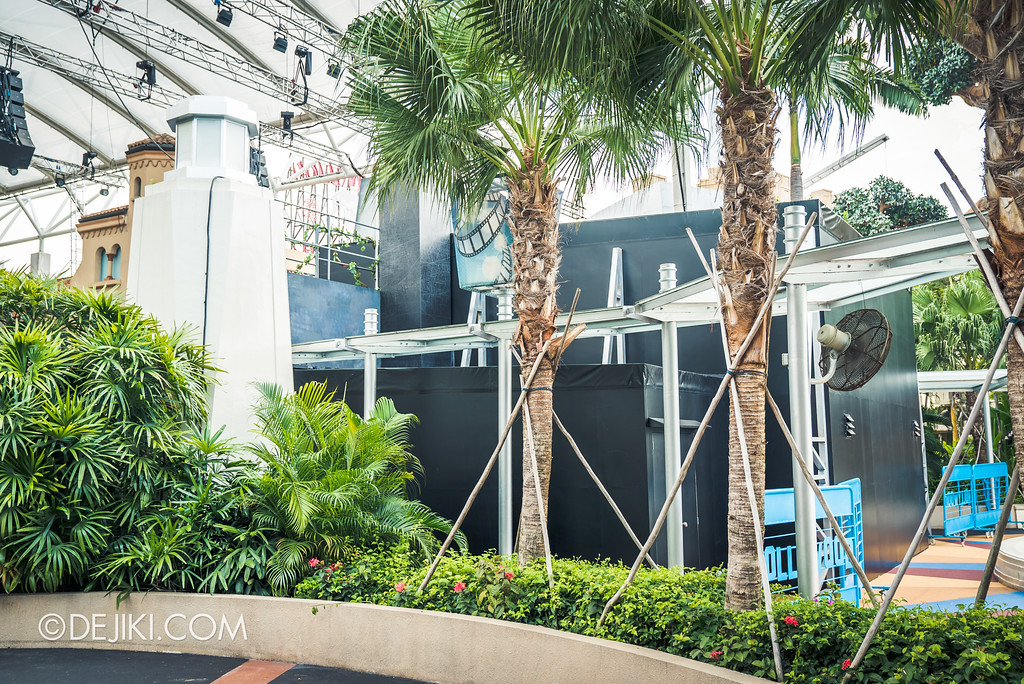 Universal Studios Singapore Park Update - Jurassic World Explore and Roar Backstage