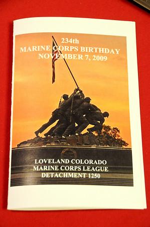 Loveland Marine Corps League Annual Ball 2009