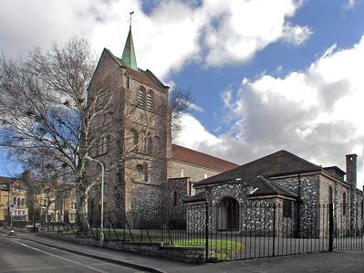 St Edmund and St  Frideswide, Roman Catholic, Iffley Road, Cowley, Oxford, OX4 1SB