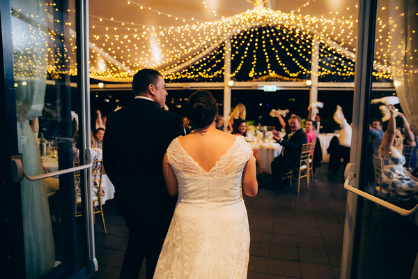 Wedding Reception at The Landing at Dockside