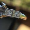 Antique 5-stone Setting, Platinum 3