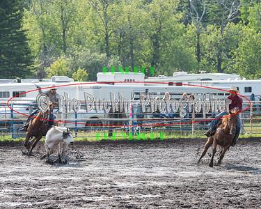 Elkwater 2014 Team Roping Slack