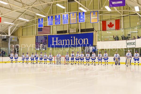 Men's Hockey v Amherst 1-20-18