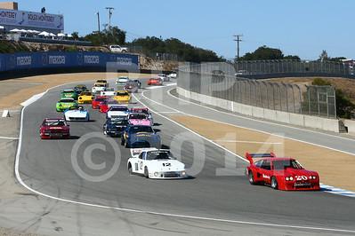 Group 5A 2014 Rolex Monterey Motorsport Reunion Race