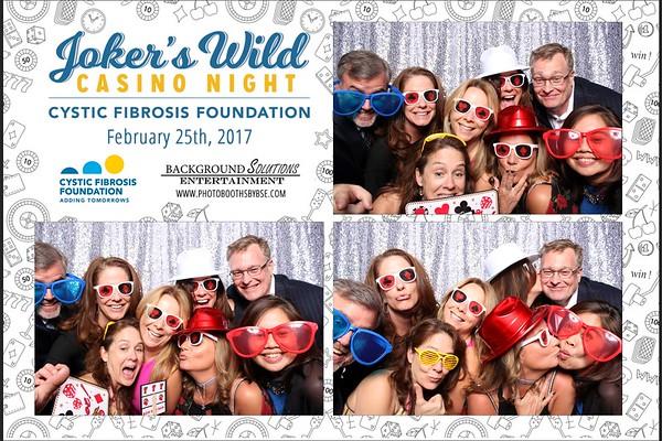 Cystic Fibrosis Foundation Joker's Wild Casino Night