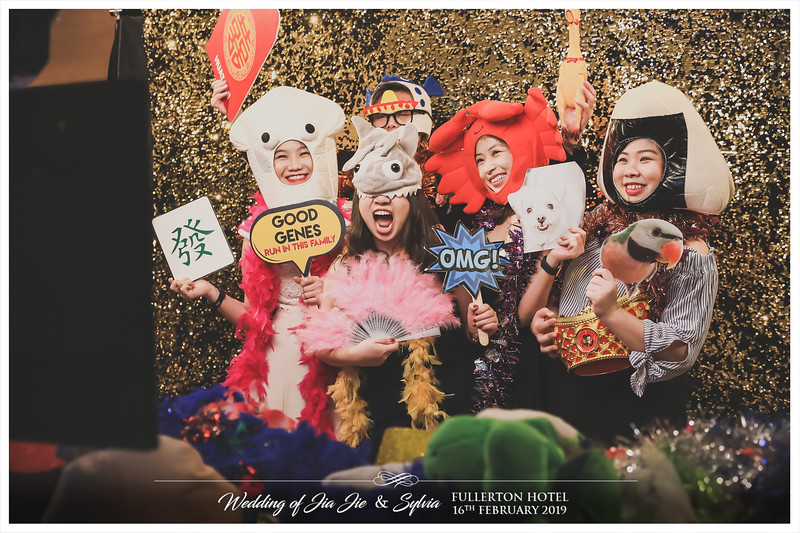 Wedding of Jia Jie & Sylvia | © www.SRSLYPhotobooth.sg