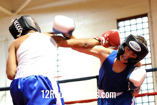 Bout #5 Carlos Figueroa, Popeye vs Carl Busse, Zanesville, 101 lbs.