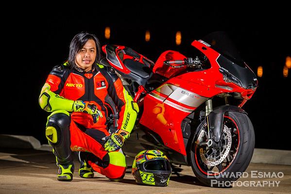 Nikyo's Ducati 848