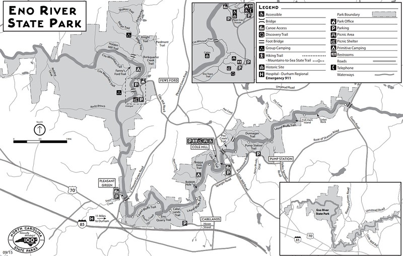 Eno River State Park (Trail Map)