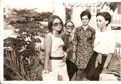 Gina, Mina Ferraz, Nanda Ferreira da Silva e a Belinha Medeiros
