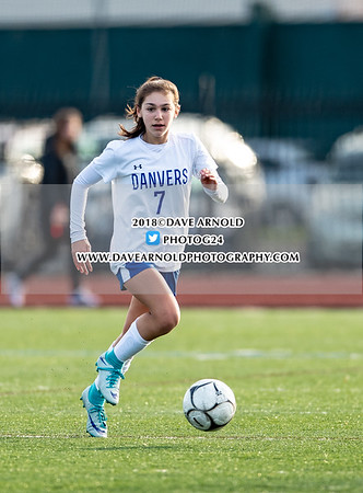 11/12/2018 - Girls Varsity Soccer - MIAA D2 North Final - Danvers vs Winchester