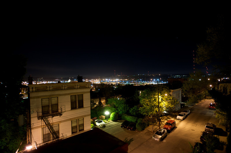VIEW FROM ROOFTOP DECK - FACING WEST