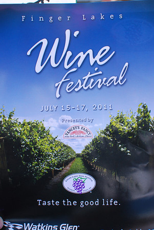 Finger Lakes Wine Festival - July 16, 2011
