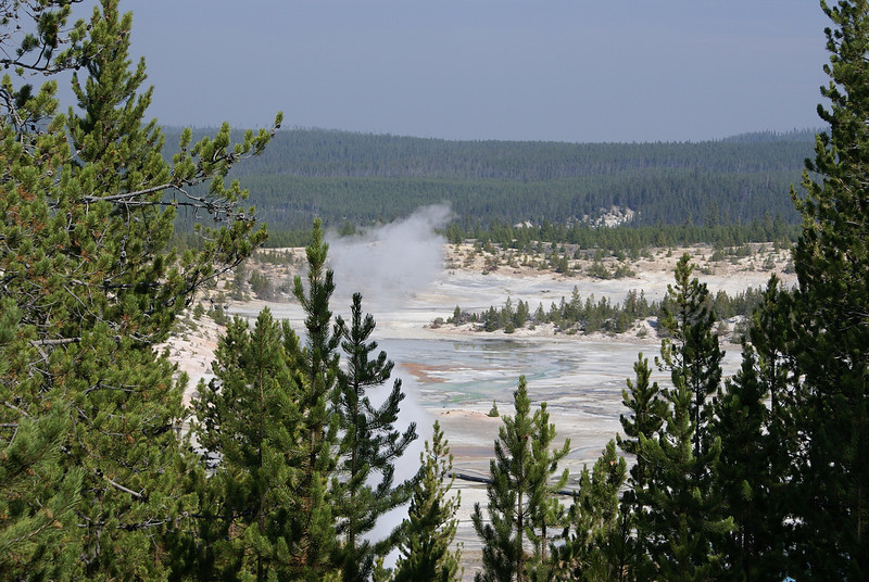 into  geyser country