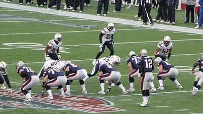 2007 AFC Championship New England Patriots vs San Diego Chargers