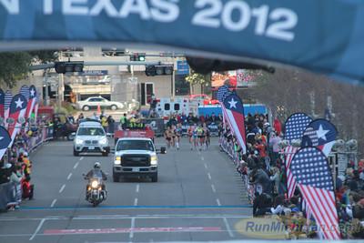 Women at 10.2 Mile Mark - 2012 US Olympic Trials Marathon
