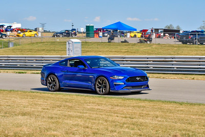 2020 SCCA TNiA July 29th Pitt Race Blu Mustang