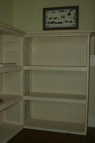 third floor bookcase