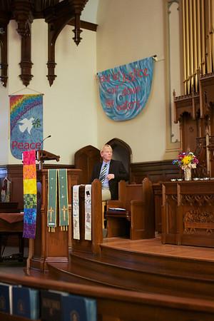 GA220 Worship at Sixth Presbyterian with Michael Adee