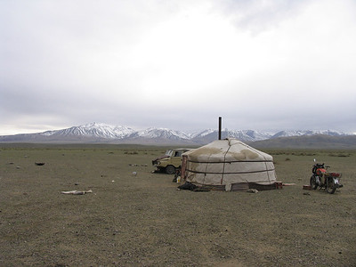 Outer Mongolian Tents (2008)