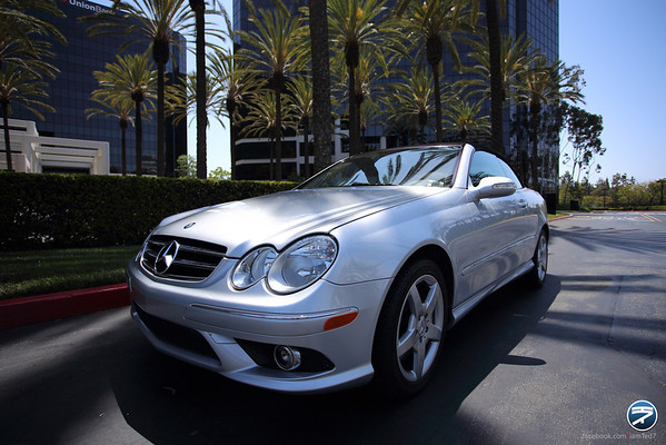 Mercedes CLK 550 Convertible