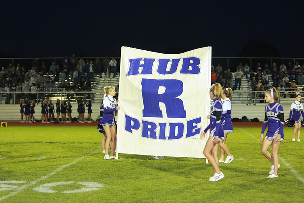 2008 RTHS HUBS MARCHING BAND PREFORMS @ DIXON FOOTBALL GAME