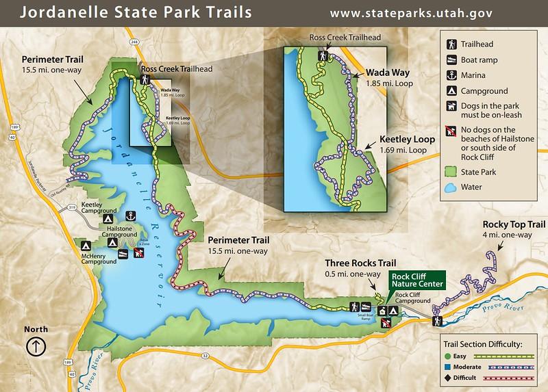 Jordanelle State Park (Trail Map)