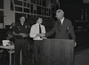Mayor Hudnut at IPD Quarterly Awards, September 15, 1983, Img. 17, with Joseph McAtee