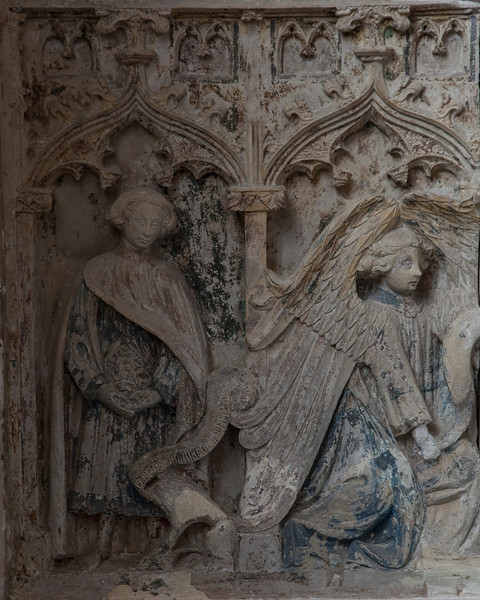 Chaource - The Annunciation - Gabriel & Saint-Mammes