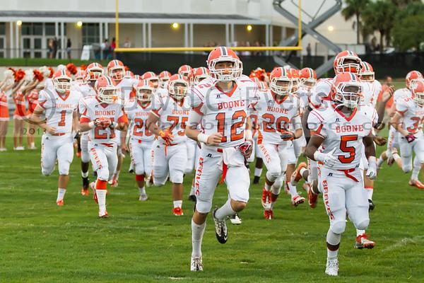 Boone Varsity Football #1 - 2013